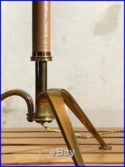 1950 ARLUS LAMPE TRIPODE ART-DECO MODERNISTE NEO-CLASSIQUE Stilnovo Adnet