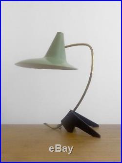 1950 DECALUX LAMPE MODERNISTE BAUHAUS FORME-LIBRE Arteluce Stilnovo