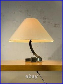 1950 LAMPE CEINTURE ART-DECO FERRONNERIE MODERNISTE ART POPULAIRE Adnet Royere