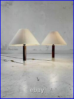 1960 2 LAMPES ART-DECO MODERNISTE SHABBY-CHIC Gio Ponti Adnet