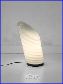 1970-1980 MAZZEGA LAMPE MODERNISTE SPACE-AGE MURANO MEMPHIS Arteluce