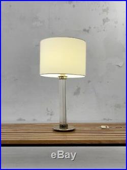 1970 Lampe Moderniste Bauhaus Space-age Shabby-chic Plexiglas Lucite
