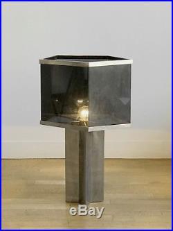 1970 Romeo Rega Grande Lampe Art-deco Moderniste Bauhaus Shabby-chic