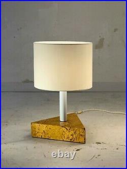 1980 ENORME LAMPE POST-MODERNISTE MEMPHIS BAUHAUS SOTTSASS RIZZO Stilnovo