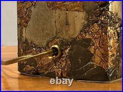 1990 LAMPE COMPRESSION CINETIQUE SHABBY-CHIC Jansen César Willy Daro Ado Chale