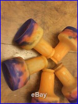 5 Tulipe Lustre Art Deco Signe Muller Freres Lampe French Tulipe Lamp Daum Degue
