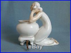 ++ ALADIN FRANCE veilleuse lampe art déco c. 1930 figural perfume lamp Robj ++
