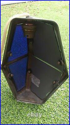 ANCIENNE LAMPE PIROUETTE art déco design Tête pivotable Hauteur réglable