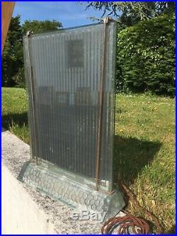 Ancien Radiateur Rene Coulon Saint Gobain Pour Faire Lampe Design