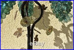Ancienne lampe Style ART DECO 3 grappes de raisins MURANO a restauré