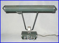 Ancienne lampe de bureau JUMO Eileen Gray Grey (old french desk lamp) art déco
