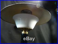 Ancienne lampe de bureau champignon art déco modernisme