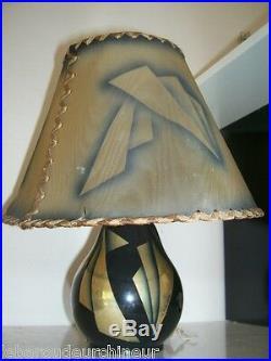 Ancienne lampe signée Aubert