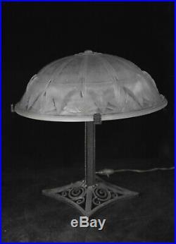 Art Deco Lampe de Bureau model Muller Freres
