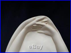 Art deco jeune femme sculpture art déco G Bessi 68 cm orientaliste lampe