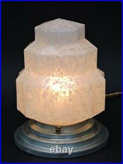 BELLE LAMPE BUILDING MODERNISTE ART DECO SKYSCRAPER GRATTE-CIEL 1930 Clichy n3