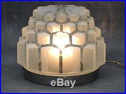Belle large LAMPE BUILDING MODERNISTE ART DECO SKYSCRAPER GRATTE-CIEL 1930
