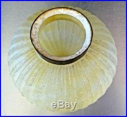 DAUM NANCY-Pied lampe art deco travail acide, gallé, lalique, sabino, genet, muller