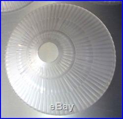 D'AVESN élève de lalique 3 coupes lustre ou lampe art deco