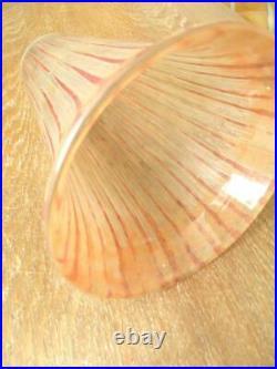 Daum Nancy Grande Tulipe De Lampadaire Lampe Gravée Art Nouveau Art Déco (580)