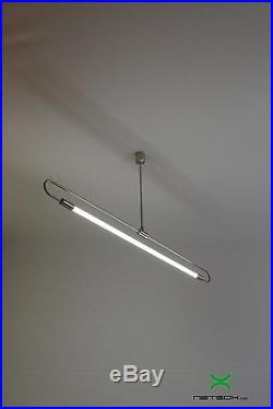 Design LED! Lampe Soffitte industrial Büro Industrie Bauhaus Lamp neon art deco