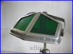 Grande Lampe Pirouett De Salon Art Deco Metal Chrome