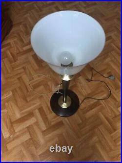 Grande Lampe Vintage Mazda Bureau Art Déco