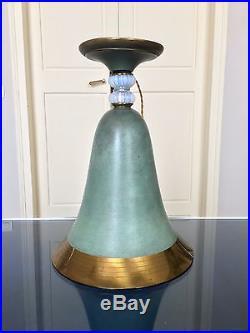 lampe art deco grande lampe art d co dinanderie verre opalescent lampe de salon table m tal. Black Bedroom Furniture Sets. Home Design Ideas