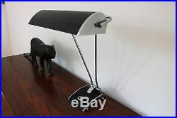 Grande lampe Eileen Gray / Jumo France / Art Déco 1940 rare état parfait