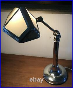 Grande lampe Pirouett Art Déco 30' Etat d'origine avec publicité