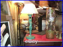 Gustav Adolf Daumiller 1878-1962, très belle Lampe de table Art Deco