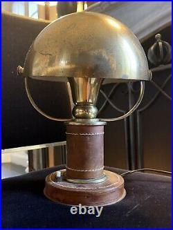Hermes Lampe De Table Art Deco 1930 Éra Adnet Dupre Lafon Lamp