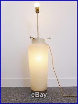 IMPORTANT PIED DE LAMPE LUMINEUX ANNEES 70 VINTAGE DESIGN 70S FLOOR LAMP 70's