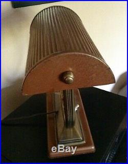 Jolie Lampe De Bureau Art Deco