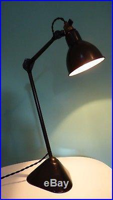 LAMPE AJUSTABLE GRAS Brevetée SGDG. Modèle 205 entre 1921-1930. Atelier, métier