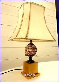 Lampe Art Deco Lampe Pied Ananas Era Maison Charles Jansen