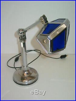 LAMPE PIROUETT DE BUREAU art déco 1930 en très bon état + ETIQUETTE SOUS LE PIED