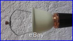 LAMPE de BUREAU JUMO Modele 320 Bakelite Cuivre Tole art deco