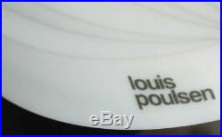LUSTRE Lampe moon de VERNER PANTHON design 60/80 vintage pop art Diam 40 cm Hau