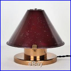 Lampe, 1940 art déco bauhaus
