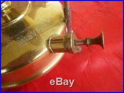 Lampe A Pression Parabole Radius Sievert 25 Sweden 1930 / Antique Lamp Art Deco