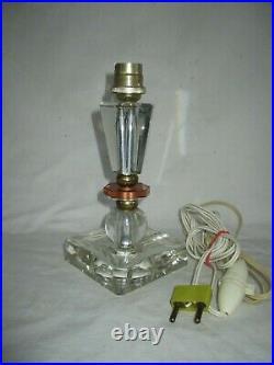 Lampe Ancienne Henry Morand Epoque Jacques Adnet Arte Deco