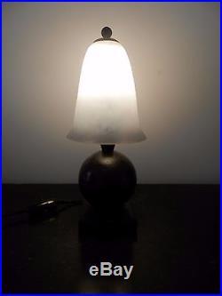 Lampe Art Deco E. Brandt Et Daum