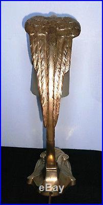 Lampe Art Deco Signé C. Ranc