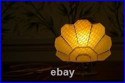 Lampe Art Deco Vintage Globe Givre Presse Les Merveilleuses