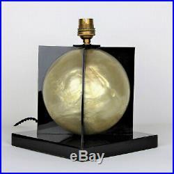Lampe Art Déco perle nacrée, 1930