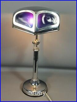 Lampe Art déco Pirouett, modèle mouche étiquette d'origine 1930-1940 Bel état SB