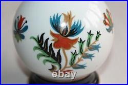 Lampe BERGER, édition d' Art porcelaine Couleuvre AP Bagdad, tirage limité
