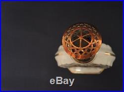 Lampe Berger porcelaine de Paris la couleuvre France vintage