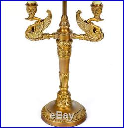 gt; Decolt; Bouillotte Lampe Bureau Napoleon Art De Empire Style wkn0PO